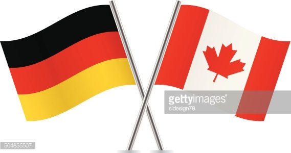 Canadian and German premium clipart - ClipartLogo com