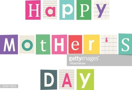Happy mothers letters cut out of books and premium clipart letters cut out of books and magazines spiritdancerdesigns Images