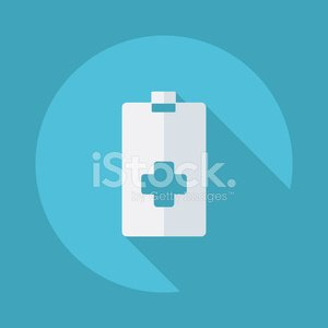 Flat modern design with shadow vector icons: medical questionnai