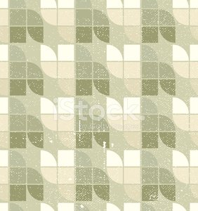 Seamless vintage tiles background, abstract vector background