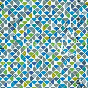 Vector geometric colorful abstract seamless pattern, spotted