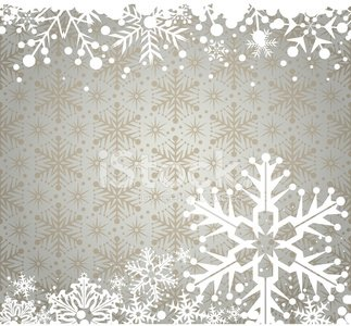Winter Christmas Background Snowflake Wallpaper