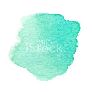 Watercolor stain. Vector element for poster, banner, card design