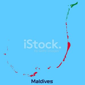 Vector Map of Maldives premium clipart - ClipartLogo.com
