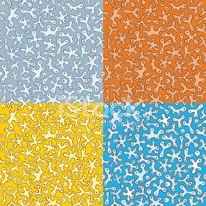 Seamless Pattern of Blobs