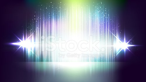 Abstract flashing light vector backgrounds