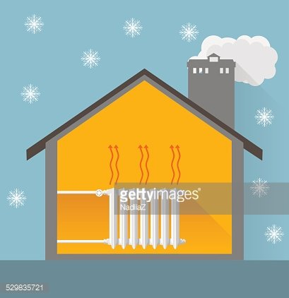 A Very Warm And Welcoming Queen and A House Decorated For The Christma –  Clipart Cartoons By VectorToons