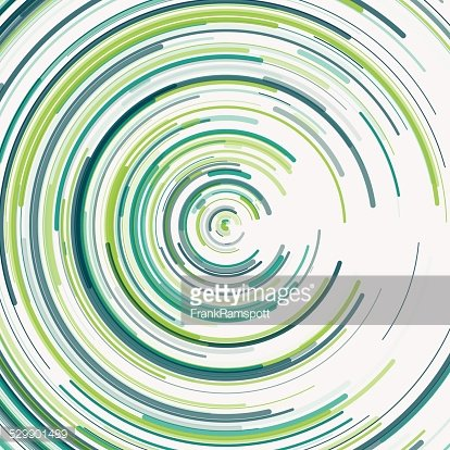 Growth Concentric Circle Pattern