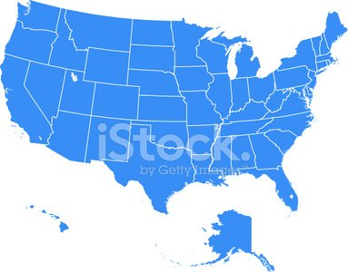 Map Of America Clipart.United States Of America Map Premium Clipart Clipartlogo Com