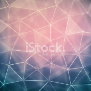 Background with Polygons