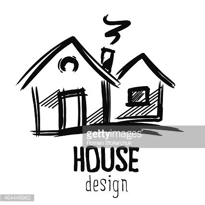 House Design Sketch Premium Clipart Clipartlogocom