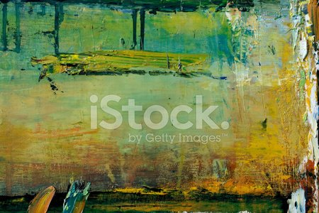Abstract Painted Green Art Backgrounds Clipart Image