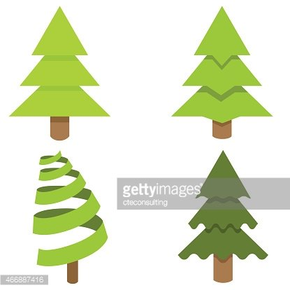 Christmas Tree Icon.Christmas Tree Icon Set Premium Clipart Clipartlogo Com