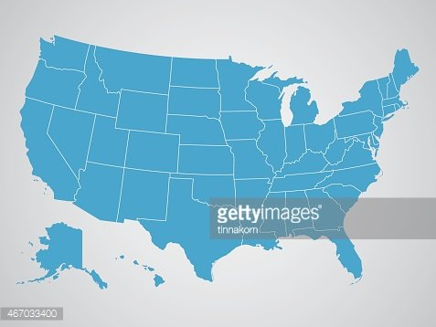 Map Of America Clipart.Political Map Of The United States Of America Premium Clipart
