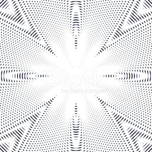 Black and white moire lines, striped psychedelic background.