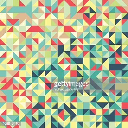 Abstract colorful background made of triangle pattern