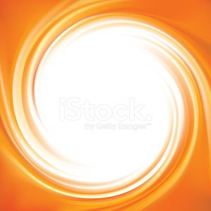 Vector abstract background. Frame of curl fluid surface