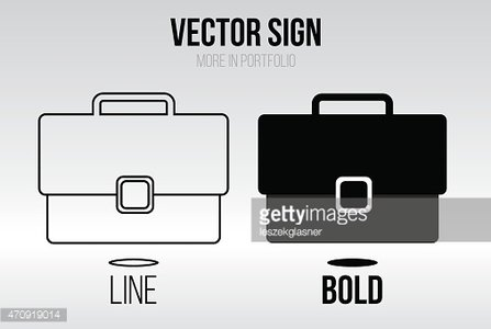 Linear icon vector set, flat design