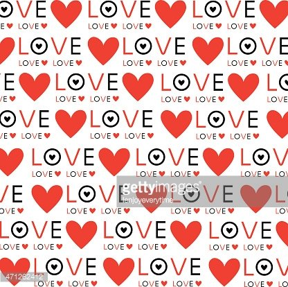 Background Wallpaper Love Heart Text Vector Design