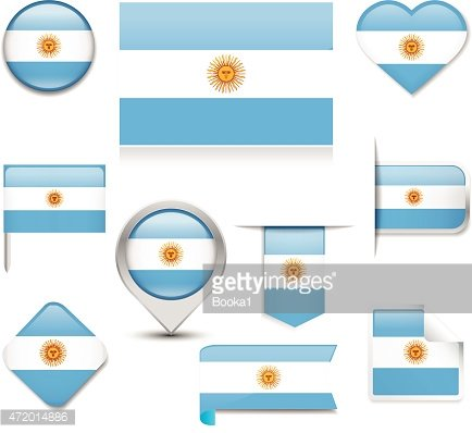 Argentina Flag Collection