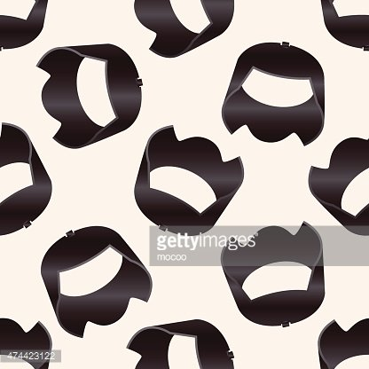 Camera Theme Lens Cartoon Seamless Pattern Background
