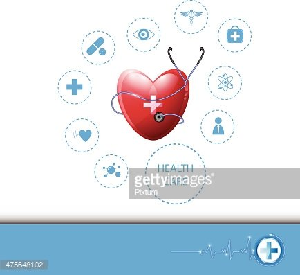 vector background health care and medical concept
