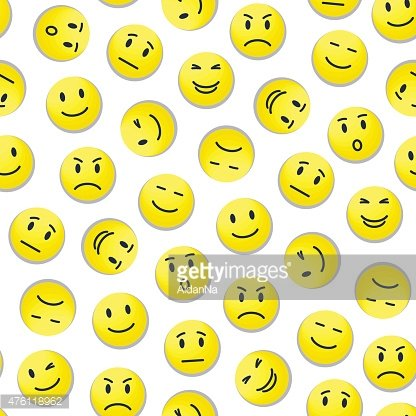 Smiley pattern