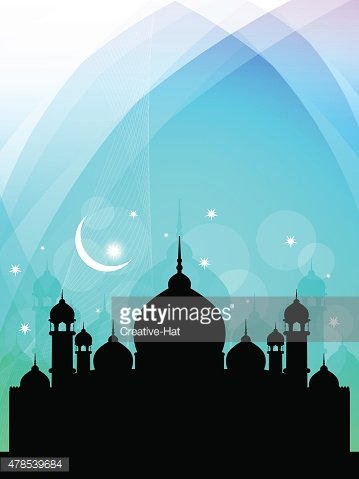 Beautiful Islamic background.