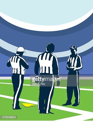 three referees