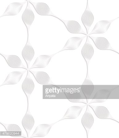 Paper white six pedal flowers