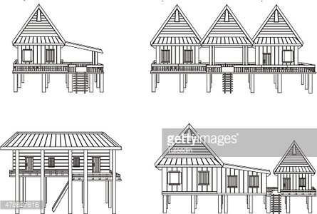 House of northeast Thailand