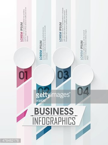 Creative business infographic elements.