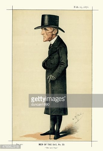 Vanity Fair Print of Archbishop Henry Edward Manning