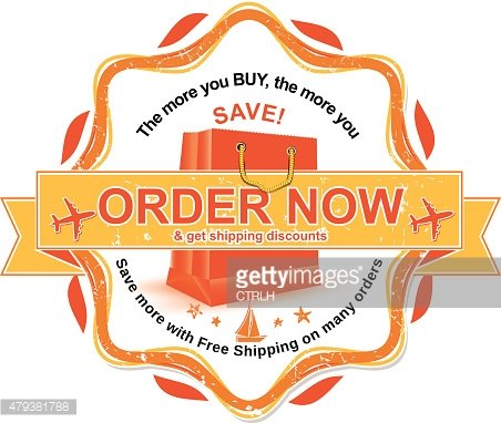 Order now and get shipping discounts