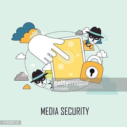 media security concept