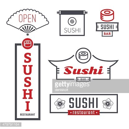 Signs sushi