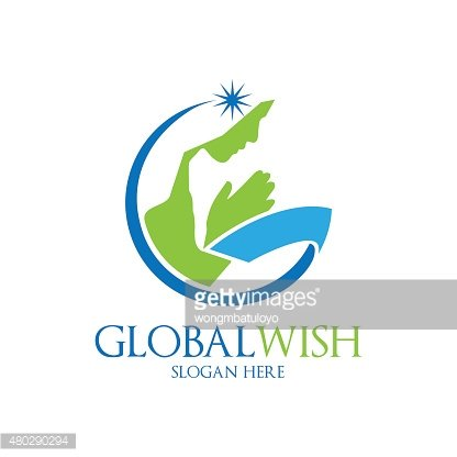 Global Wish Logo Template