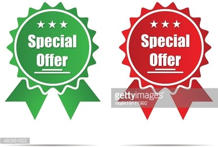 Special offer on a ray background new product