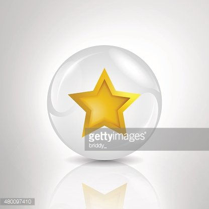 star in bubble illustration