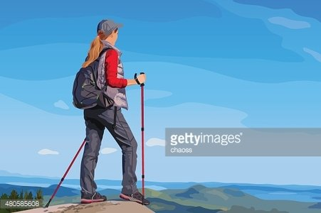 Young woman tourist
