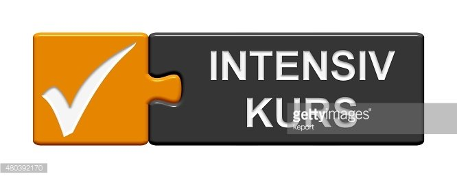 Puzzle Button showing Intensice course german Intensive course in german ...