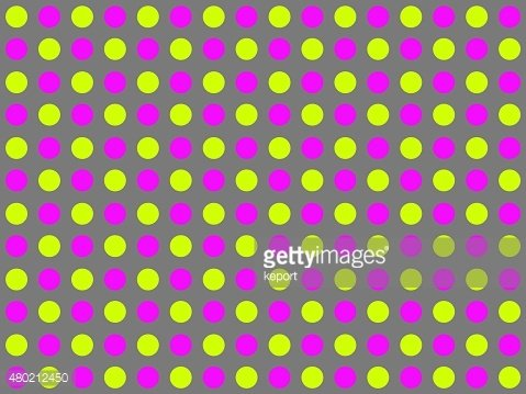 Dots background gray yellow pink