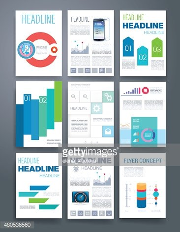Templates. Design Set of Web, Mail, Brochures. Mobile, Technology, Infographic