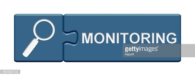 Puzzle Button showing Monitoring