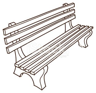 Park Bench Drawing Clipart 1 566 198 Clip Arts