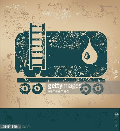 Oil industry design on old background,vector