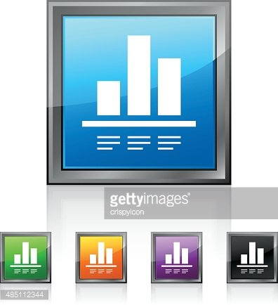 Bar Graph icon on square buttons.