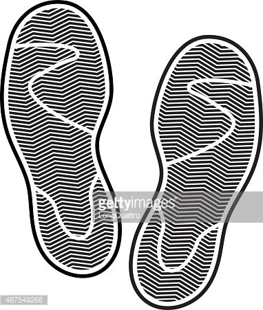 Shoes Print Premium Clipart
