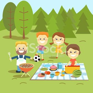 Picnic Family Royalty Free Cliparts, Vectors, And Stock Illustration. Image  58039735.