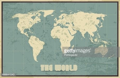 Vintage world map background premium clipart clipartlogo vintage world map background gumiabroncs Image collections